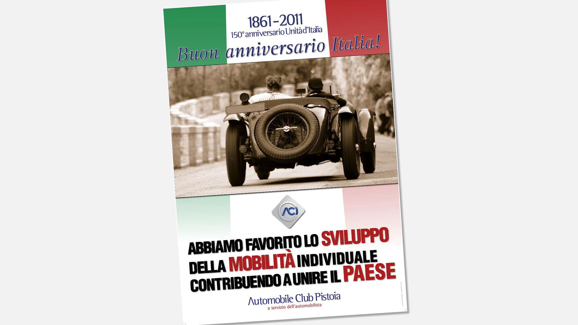 ACI 150° anniversario Unità d'Italia
